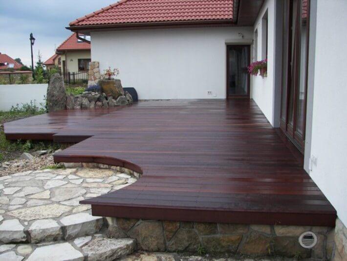 Podłogi drewniane na taras - wysokiej jakości produkty (drewno) -  realizacja podłogi Gliwice